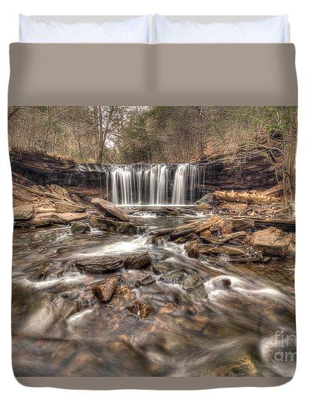 Oneida Falls II Duvet Cover