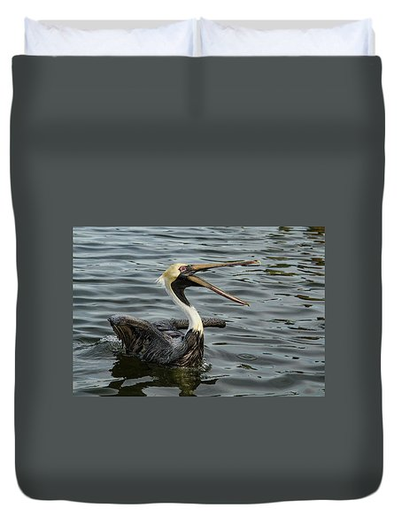 Duvet Cover featuring the photograph Open Wide by Jean Noren