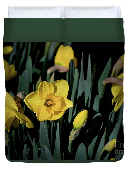Camelot Daffodils Duvet Cover