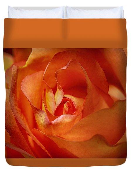 Orange Passion Duvet Cover