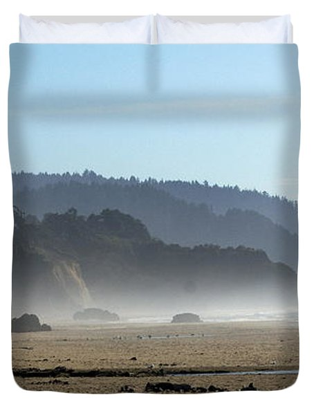 Oregon Coast 8 Duvet Cover by Marty Koch