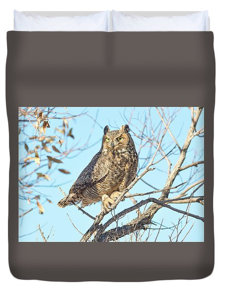 Owlish Duvet Cover