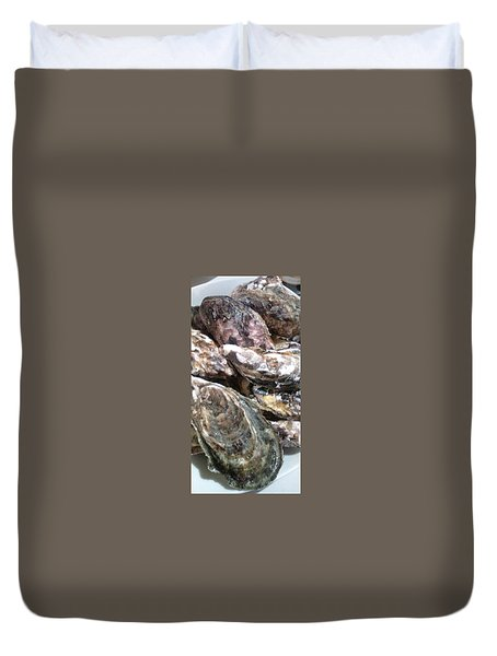 Oyster  Duvet Cover