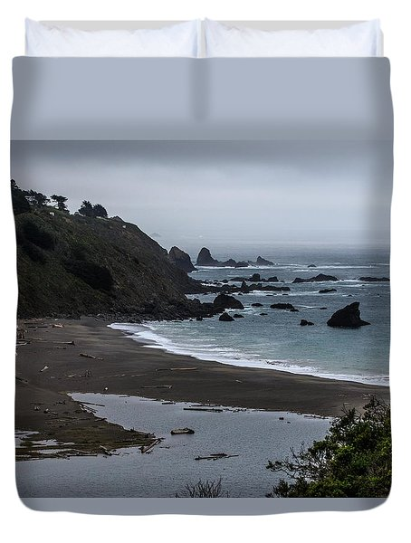 Pacific Coast Highway Duvet Cover