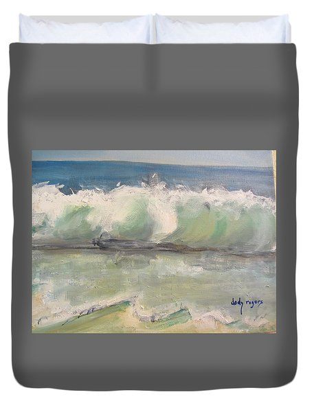 Pacific Wave Duvet Cover