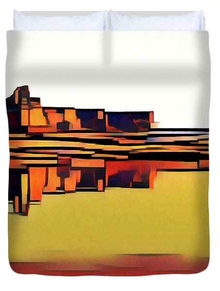 Padre Bay Duvet Cover