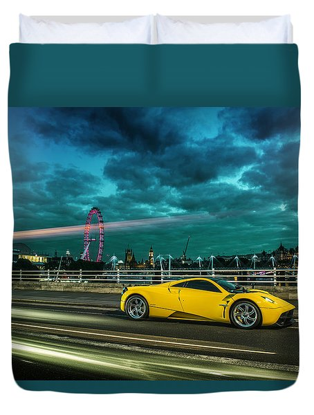Pagani Huayra London Duvet Cover