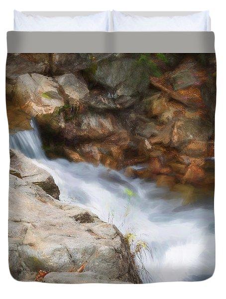 Painted Stream Duvet Cover