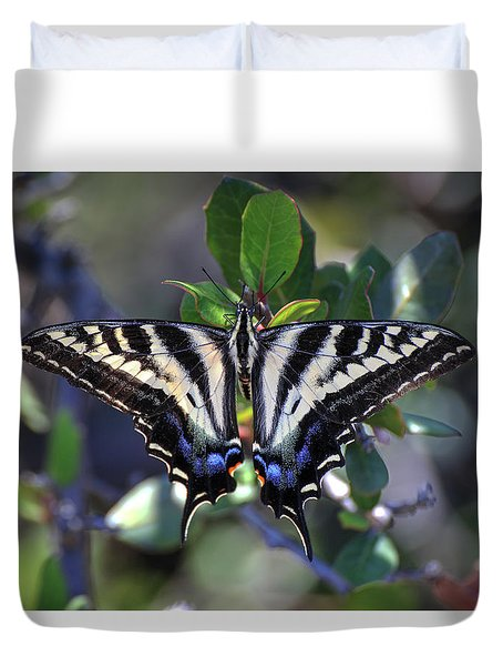 Pale Swallowtail Duvet Cover