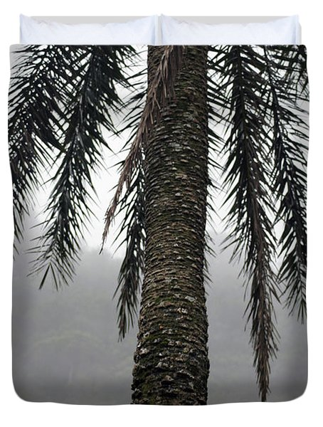 Palm, Koolau Trail, Oahu Duvet Cover