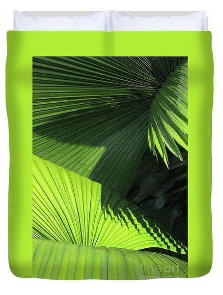 Palm Patterns Duvet Cover