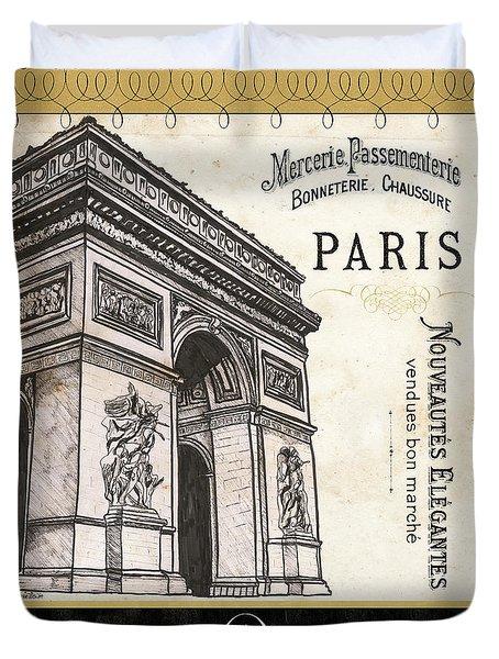 Paris Ooh La La 2 Duvet Cover