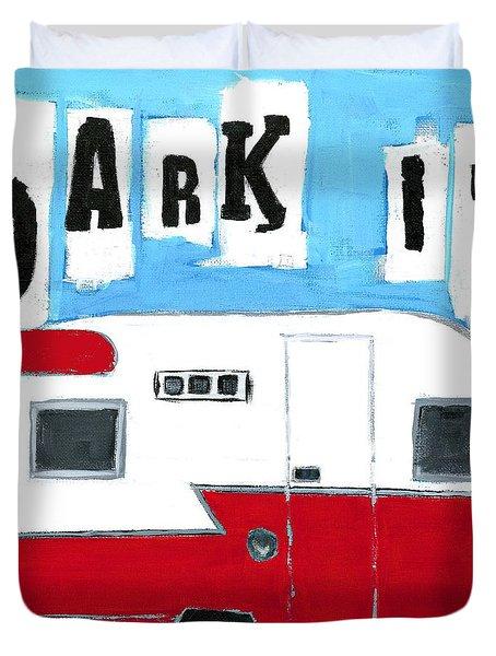 Park It Duvet Cover
