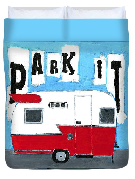 Park It Duvet Cover