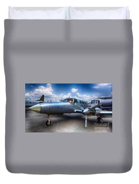 Parked Duvet Cover by Charuhas Images