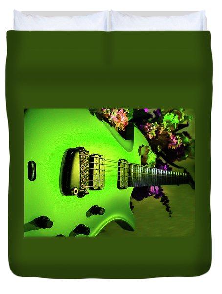 Parker Fly Guitar Hover Series Duvet Cover