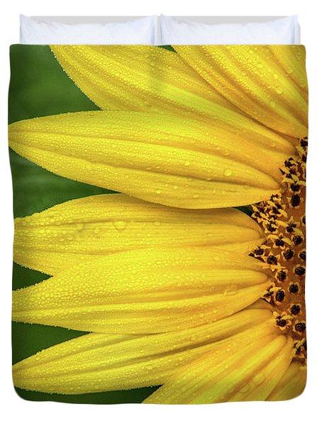 Partial Sunflower Duvet Cover