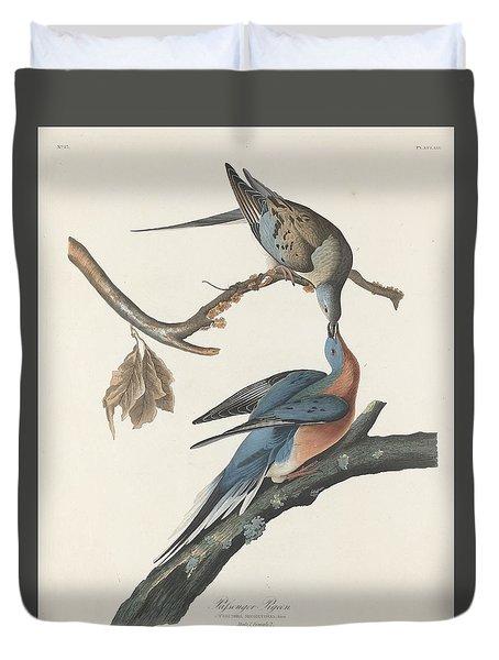 Passenger Pigeon Duvet Cover by Anton Oreshkin