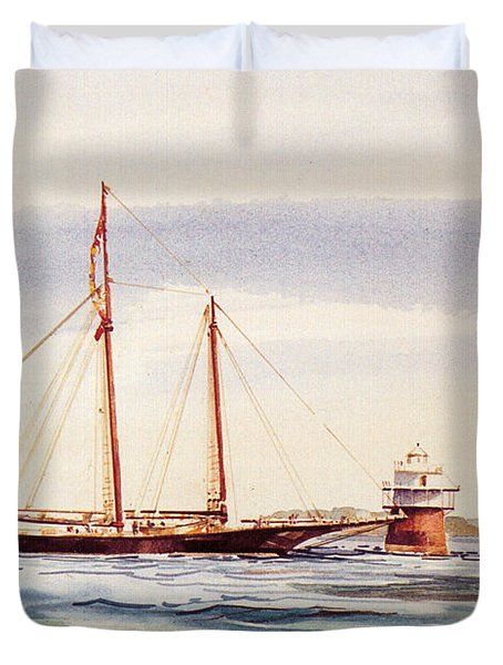 Passing Bug Light Duvet Cover