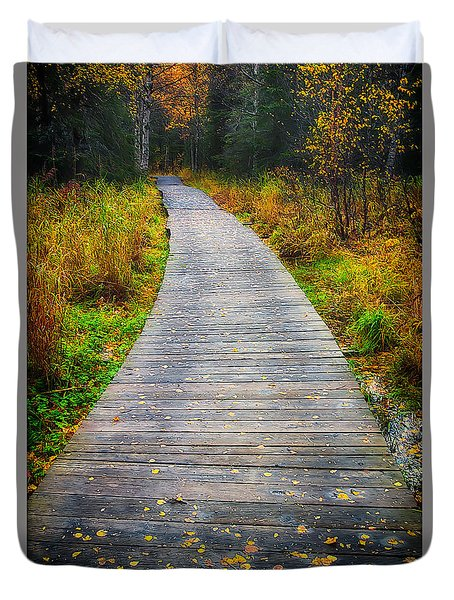 Pathway Home Duvet Cover