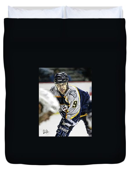 Paul Kariya Duvet Cover