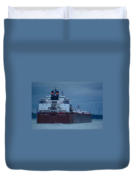 Paul R. Tregurtha Duvet Cover