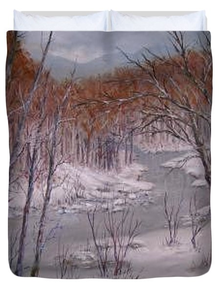 Peace And Quiet Duvet Cover by Ben Kiger
