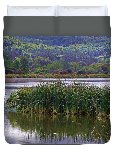 Peace Be Still Duvet Cover