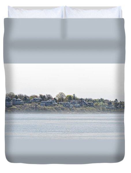 Peaceful A Life To Live Duvet Cover