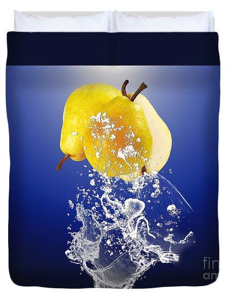 Pear Splash Collection Duvet Cover