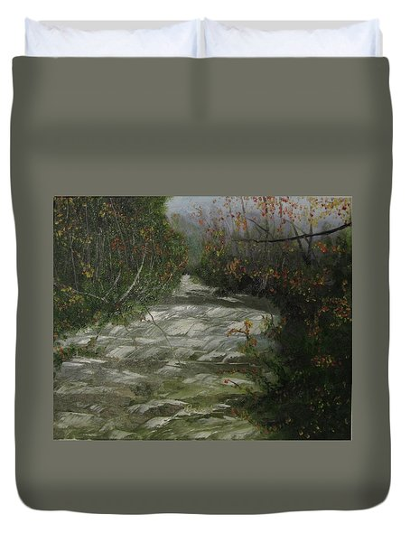Peavine Creek Duvet Cover