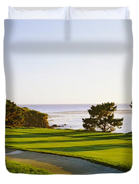 Pebble Beach Golf Course, Pebble Beach Duvet Cover