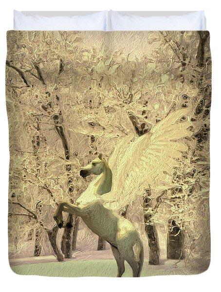 Pegasus Vision Duvet Cover