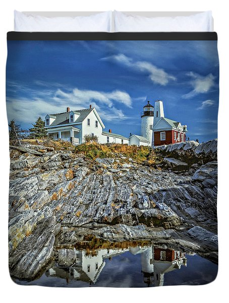 Pemaquid Reflections Duvet Cover