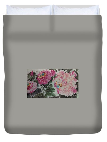 Peoney20161230_624 Duvet Cover