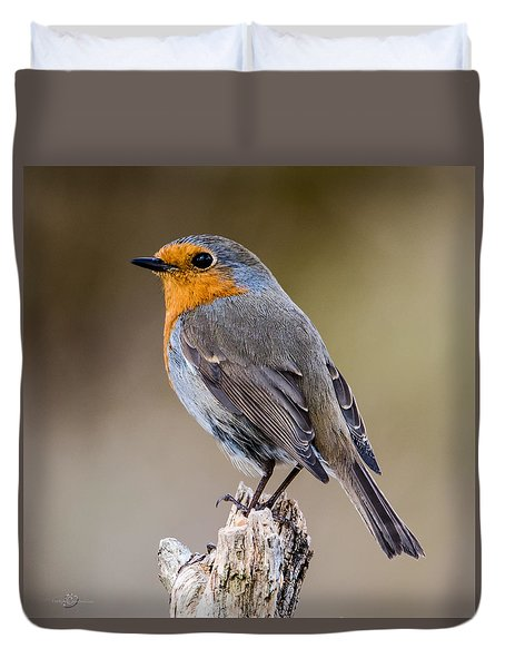 Perching Duvet Cover by Torbjorn Swenelius