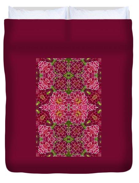 Perennial Garden Art Duvet Cover