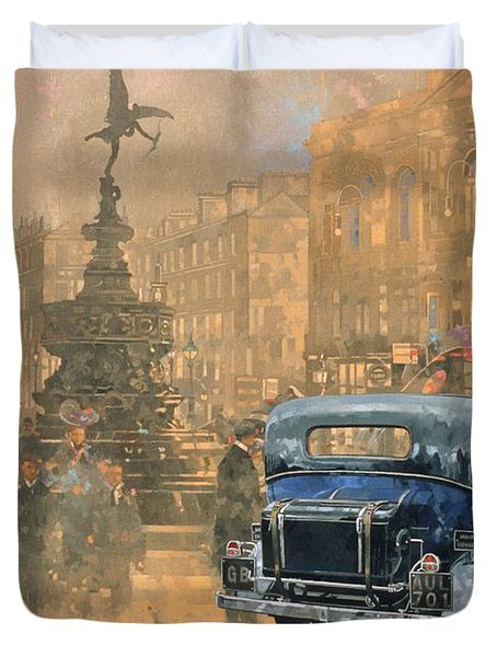 Phantom In Piccadilly  Duvet Cover