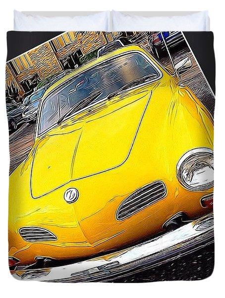 Photoshopping The #yellow #karminnghia Duvet Cover