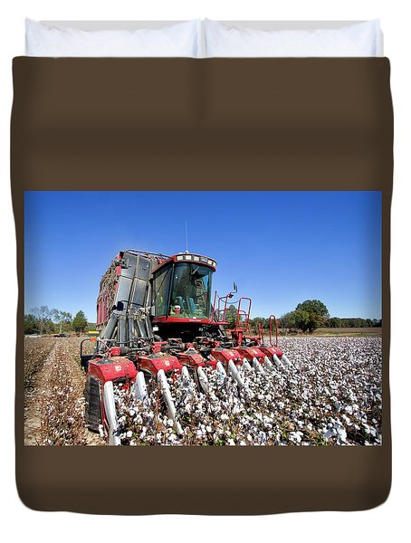 Pickin Right Duvet Cover