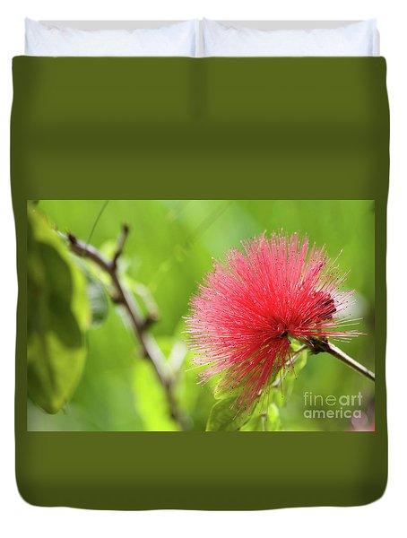 Pink Duvet Cover by Afrodita Ellerman