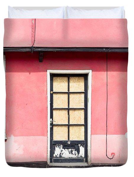 Pink Cottage Duvet Cover