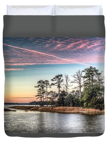 Pink Sky At Night Duvet Cover