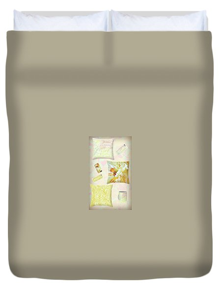 Duvet Cover featuring the photograph Pinterest by Nareeta Martin