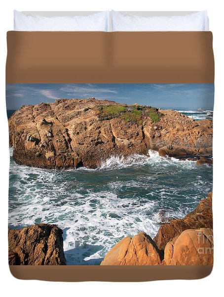 Point Lobos Duvet Cover by Glenn Franco Simmons