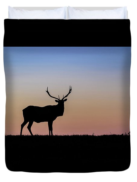 Point Reyes Elk Duvet Cover