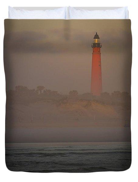 Ponce De Leon Lighthouse Duvet Cover