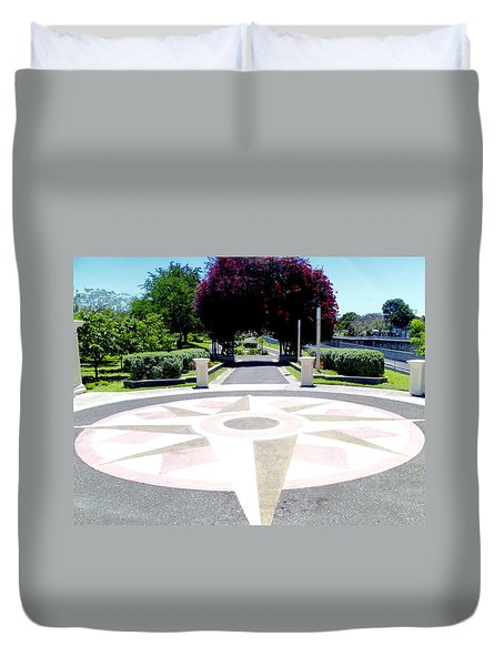 Ponce Urban Ecological Park Duvet Cover