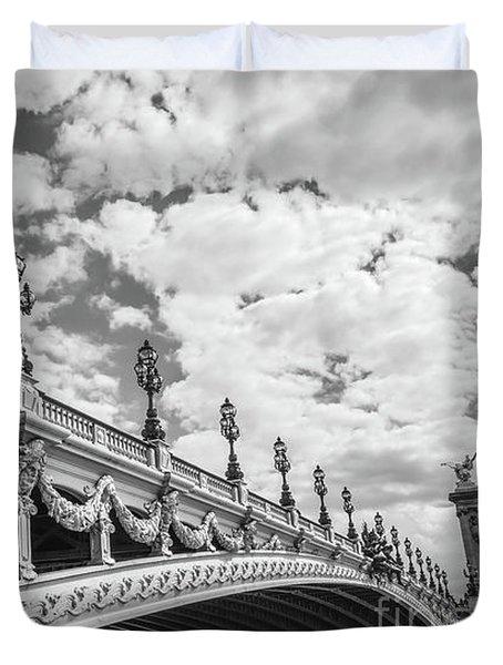 Pont Alexandre IIi In Paris Duvet Cover