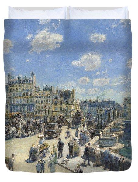 Pont Neuf  Paris Duvet Cover